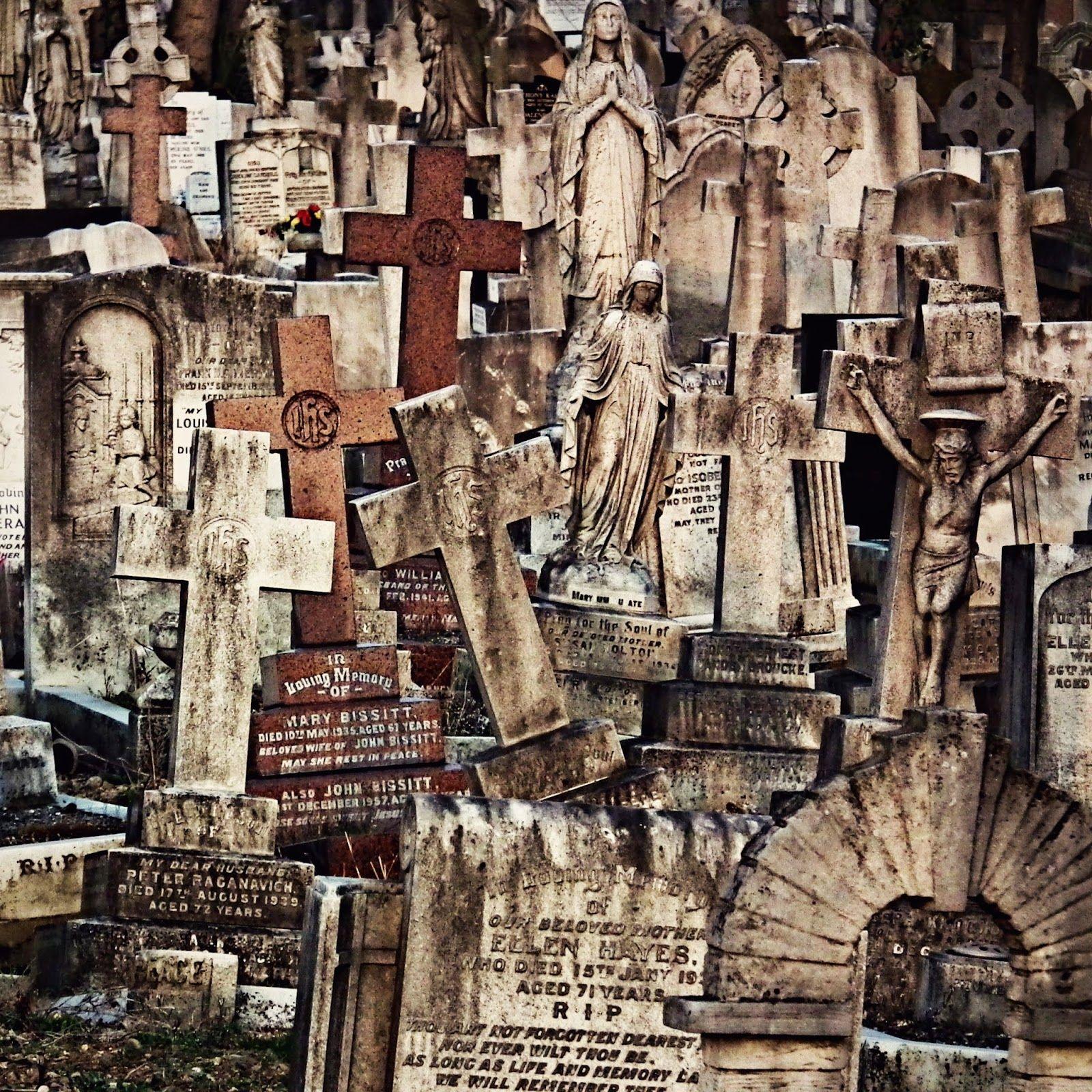 The London Muerto: Católica Romana Cementerio de San Patricio, Leyton