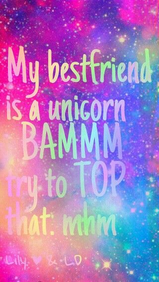 Cute Little Girl Wallpapers With Quotes Taiya This Is For You Unicorn Yay In 2019 Unicorn