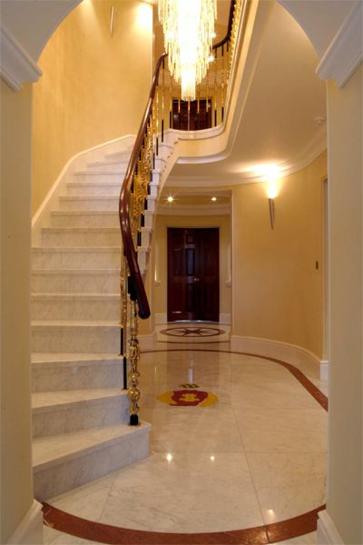 Entrance Hall Roma Marble