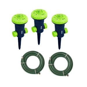 Melnor 80267gt Green Thumb Pattern Stationary Sprinkler And Hose Kit By Melnor Inc 22 20 Comes With 3 Rp Circ Sprinklers Cov Green Thumb Watering Sprinkler