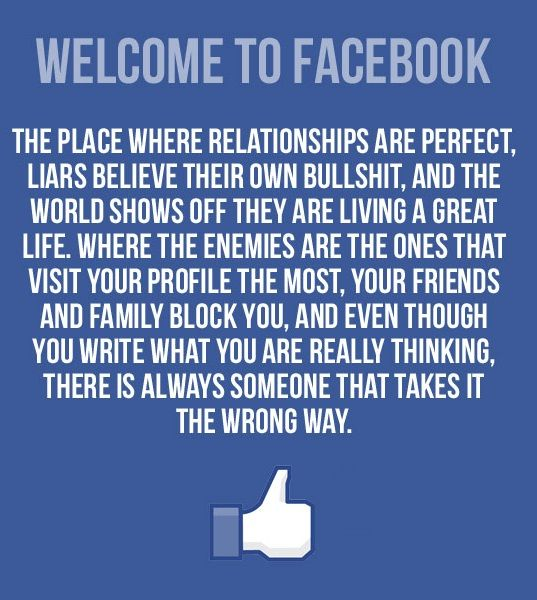 Welcome to Facebook Exactly why I'm ready to deacticate mine but then again someone might take that the wrong way and think I've blocked them or something. Geez!