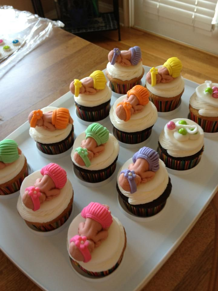 Cupcake Toppers .... Remember This Is For A Hawaiian Luau Baby Shower