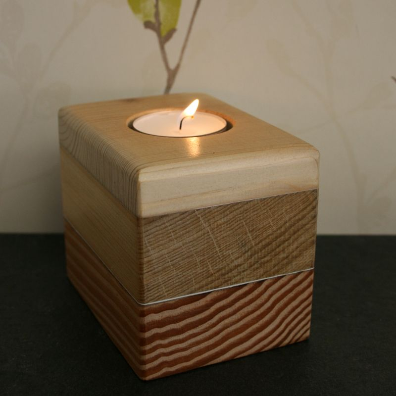 Hand Crafted Votive Tea Light Candle Holder Created