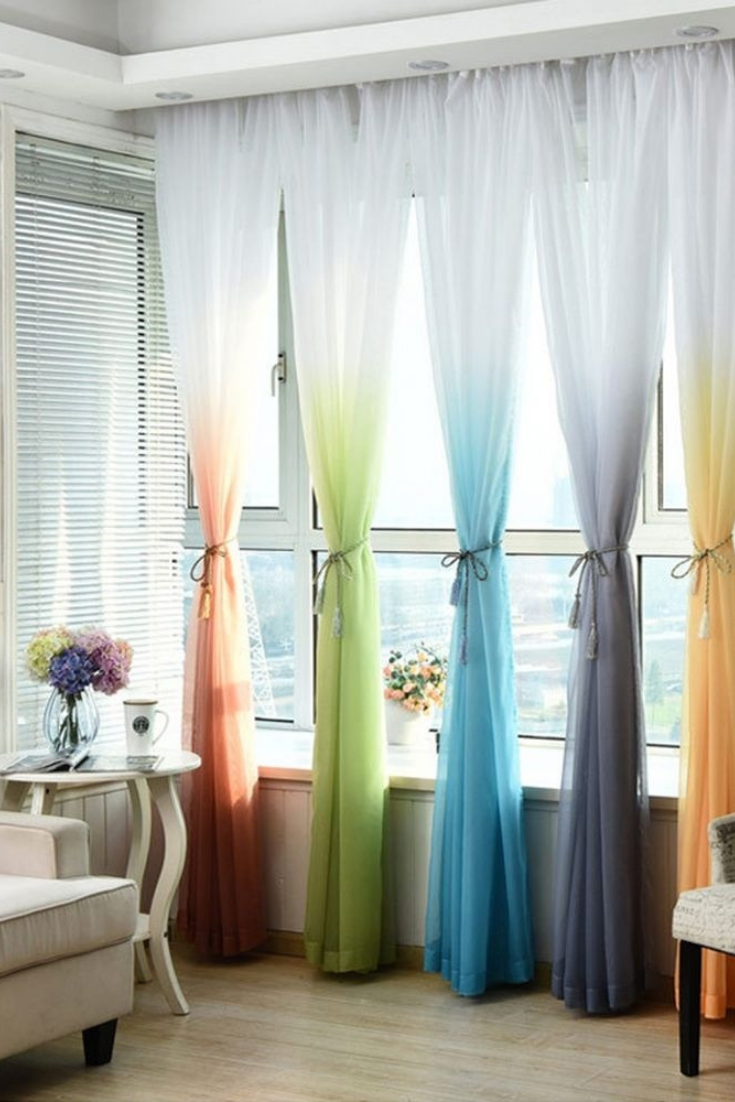 Window Treatments Printed Curtains