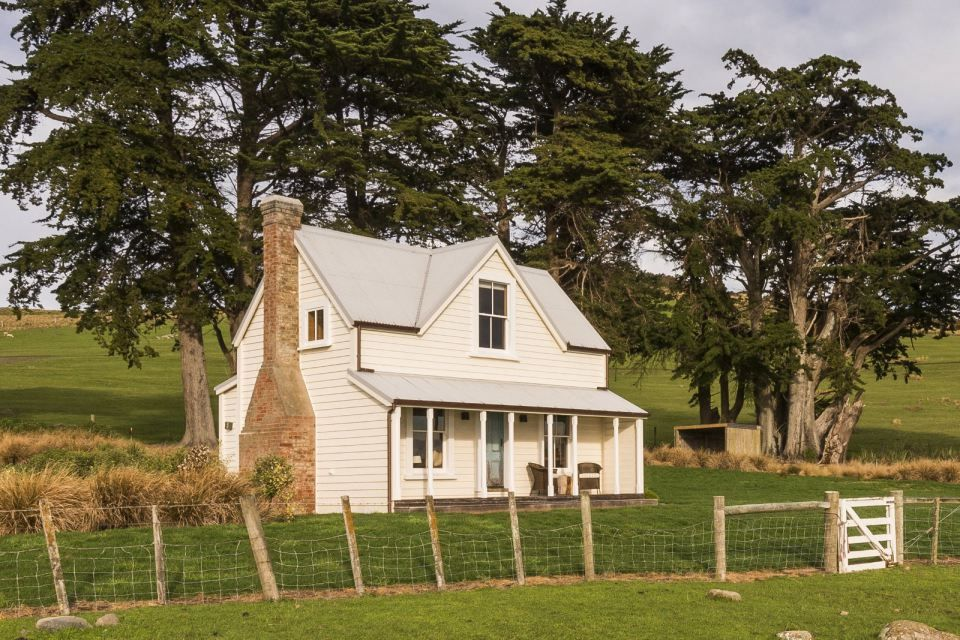 The shepherd s cottage a restored century old one bedroom farmhouse on a new zealand farm - Small space farming image ...