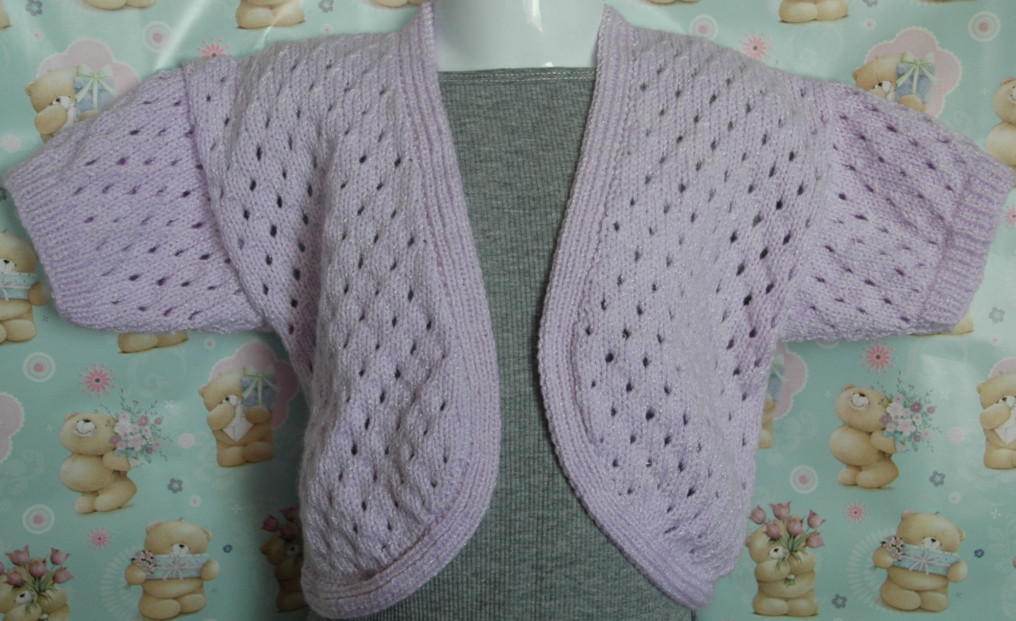 Image result for free knitting pattern for baby girl bolero | bolero ...