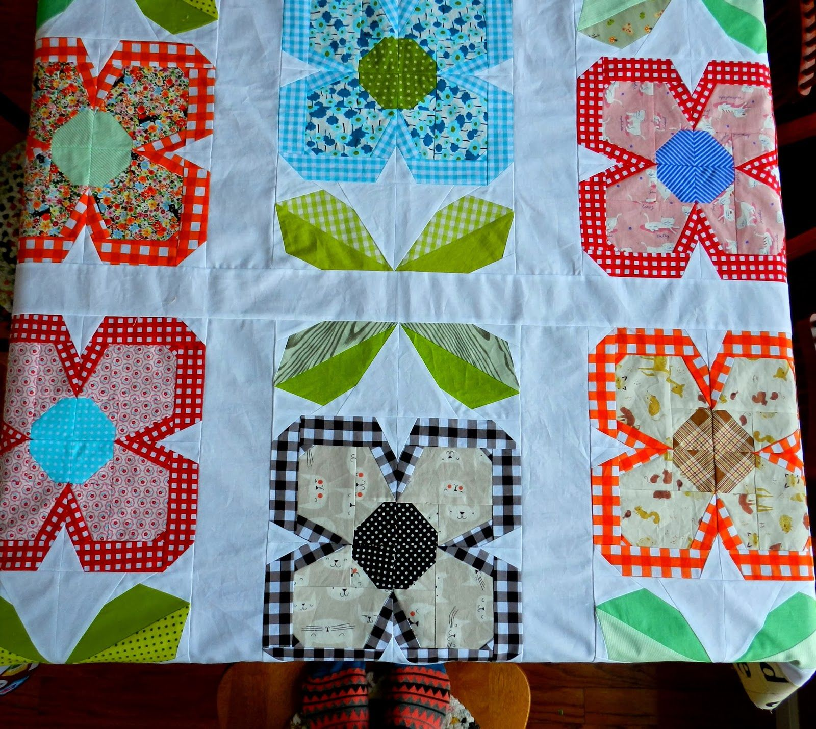 A Swedish Bloom Quilting Crafts Flower Quilts Quilts