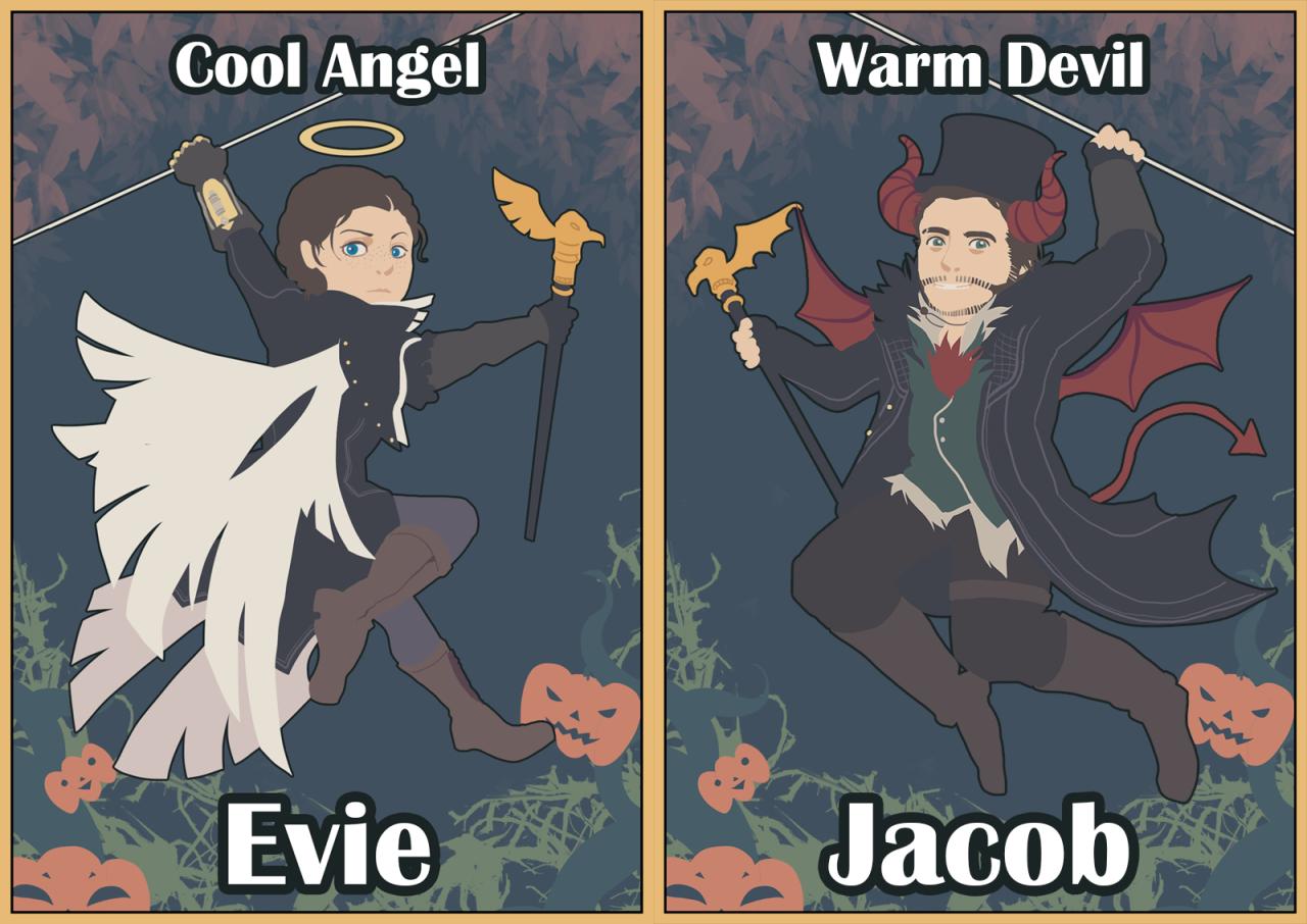AC Halloween theme cards byjadysyndrom - Assassin's Creed Art