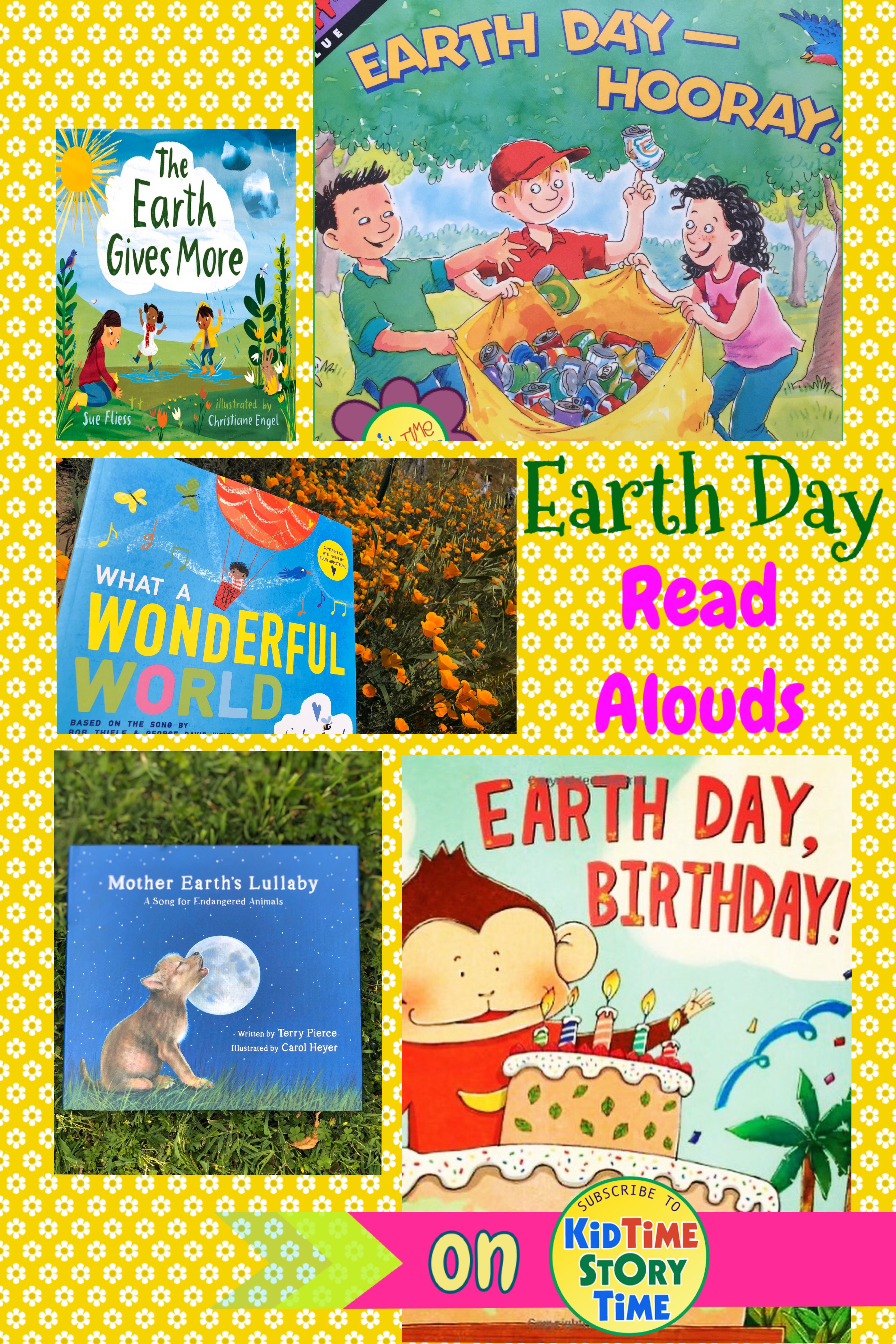 Great Earth Day Read Alouds Read Aloud American History Lessons Teaching Us History Earth day read alouds