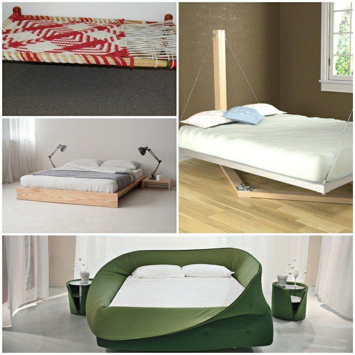 ausgefallene betten schlafzimmereinrichtung ausgefallene möbel - schlafzimmer mit boxspringbetten schlafkultur und schlafkomfort