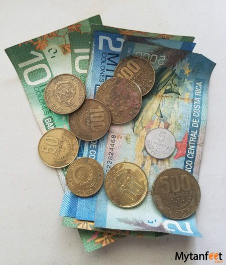 Costa Rica Money How To Handle And Exchange Costa Rica Currency