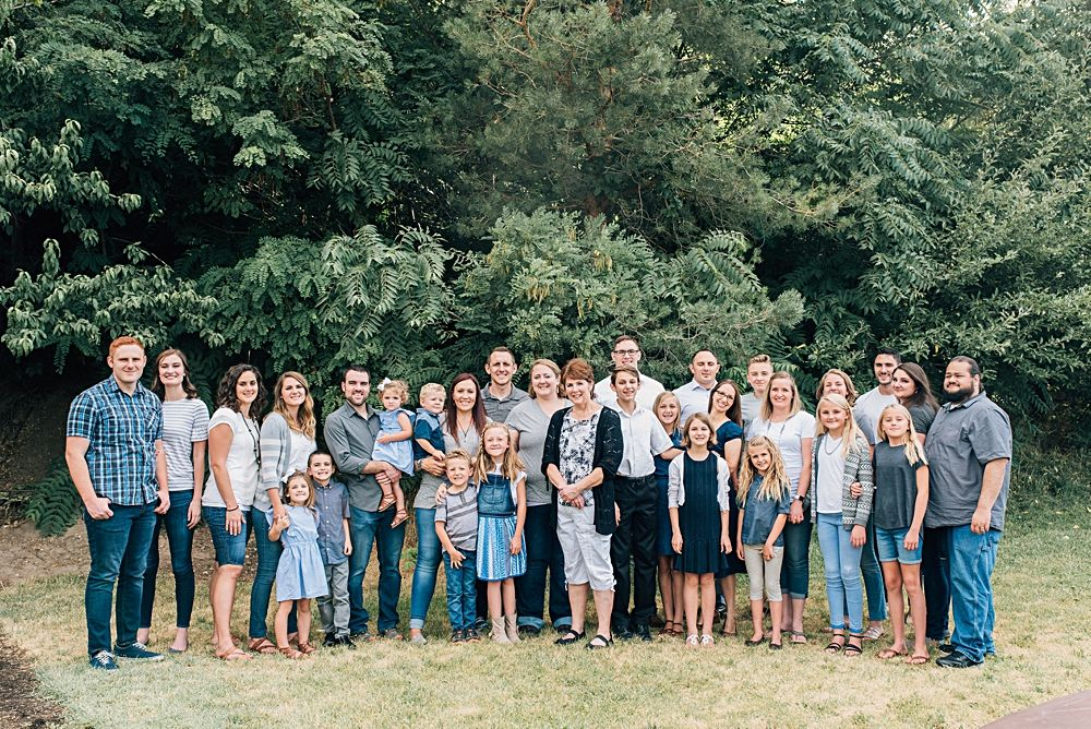 Ogden Utah Extended Family Pictures | Extended Family Photographer - Kylee Ann Studios | Logan Utah Wedding Photographer |