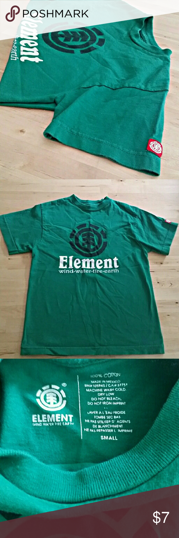 Boys Element Tee Boys short sleeve Element Tee. 100% cotton Element Shirts & Tops Tees - Short Sleeve