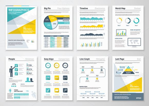 Infographic Brochures 4 Pinterest Infographic Templates