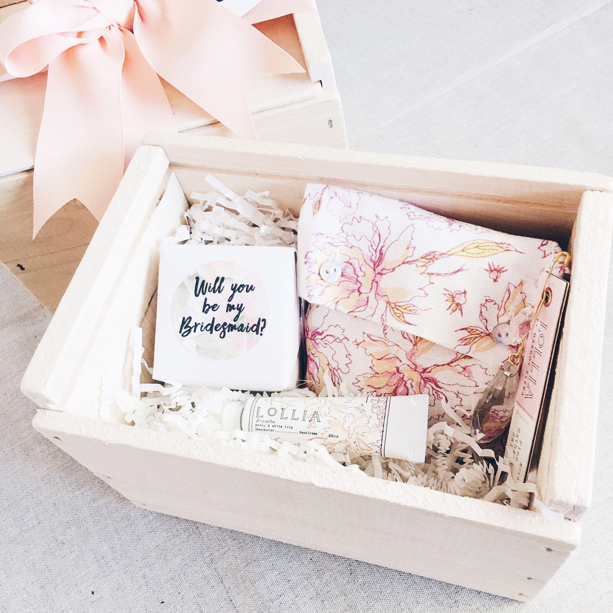 Mini Bridesmaid Proposal Box