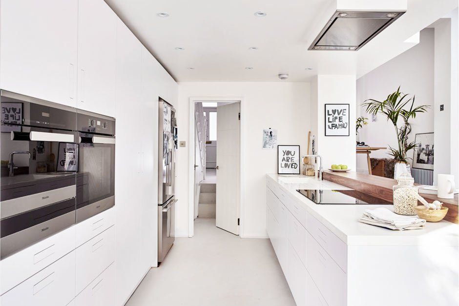 Minimalismo nórdico en West London Kitchens