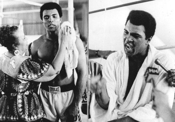 Vannacht is het 40 jaar geleden dat Muhammad Ali en George Foreman hun legendarische bokspartij uitvochten in Kinshasa. Beter bekend als The Rumble...