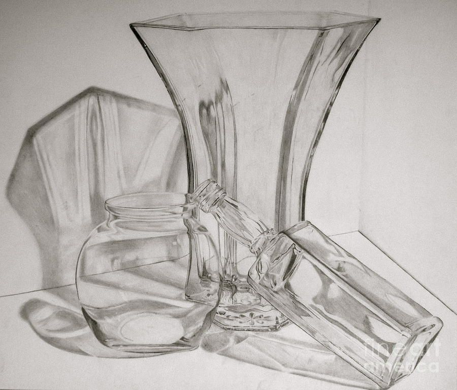 Pencil Drawing - Wine glass with woodgrain   Drawing Examples ...