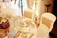 Notre mariage: la décoration de table