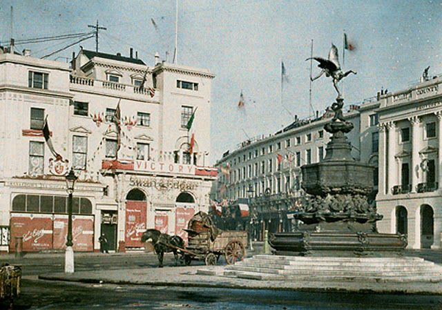 England 100 Years Ago in Color