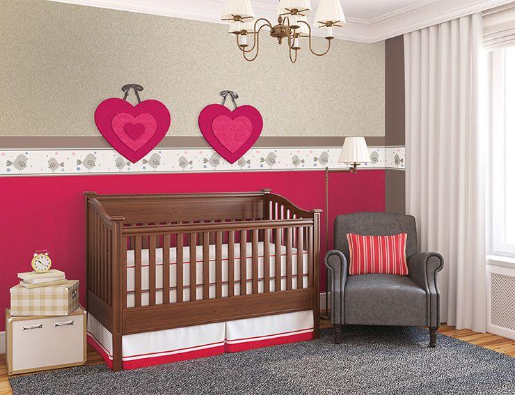 Te invitamos a utilizar #cenefas en el cuarto de tu #bebé, para ...
