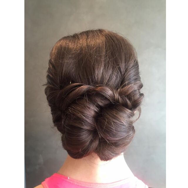 This was my prom hair ☺️