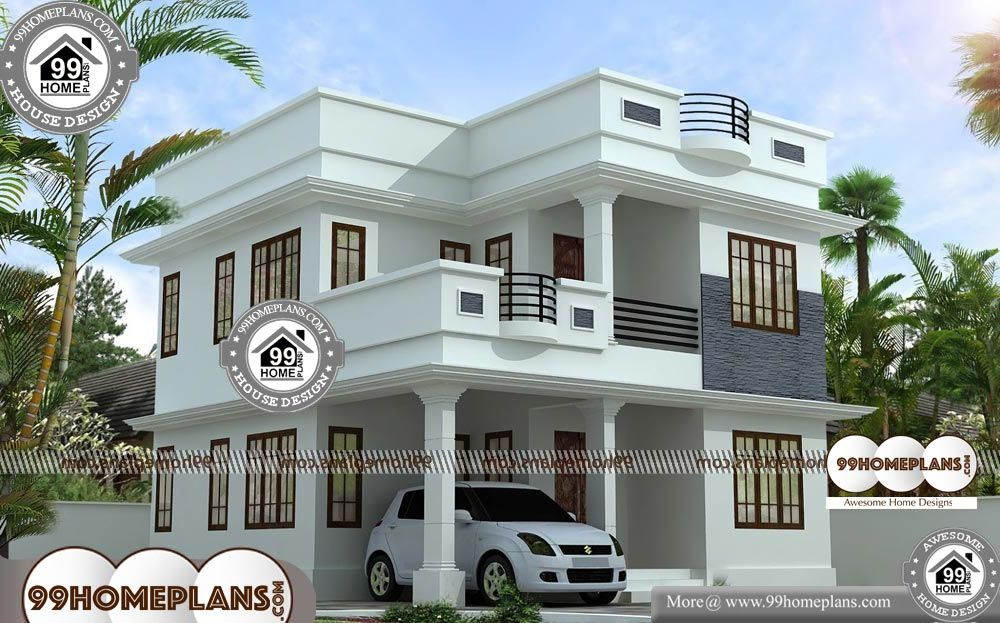 35 X 60 House Plans 2 Story 1199 Sqft Home 35 X 60 House Plans Double Story Home Having 3 Bedro Beautiful House Plans Small House Design House Layout Plans