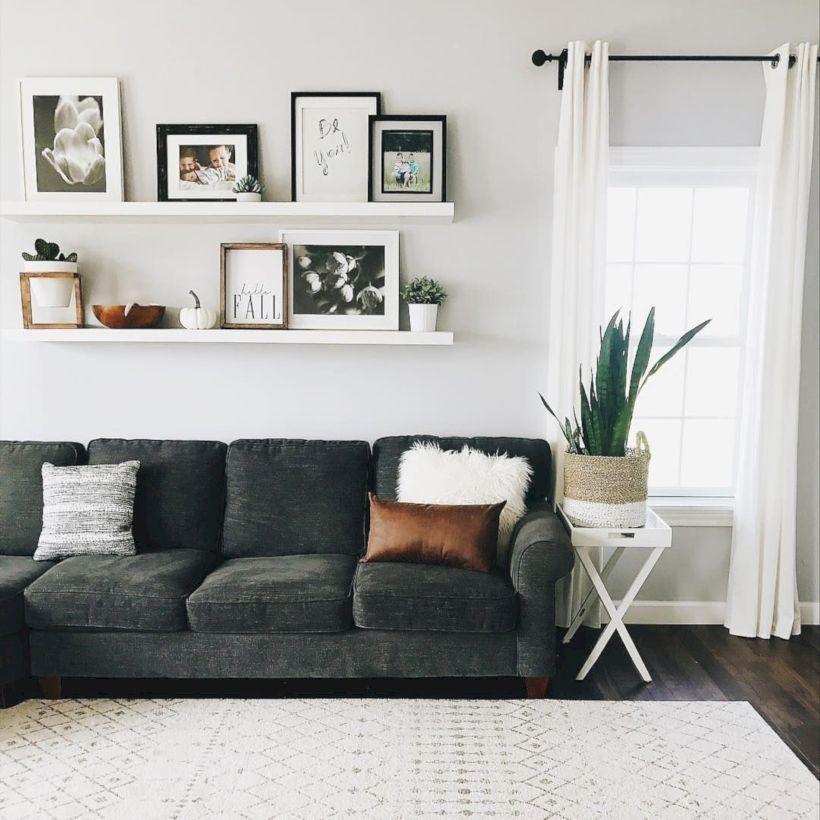 47 Inspiring Shelving Design Ideas On Living Room Wall Decor Living Room Shelf Decor Living Room Living Room Decor Modern