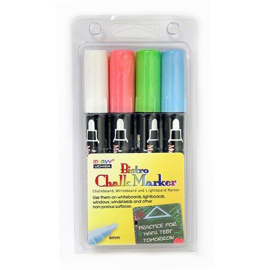 Marvy Uchida Bistro Chalk Markers Ct Of 4 Michaels Bistro