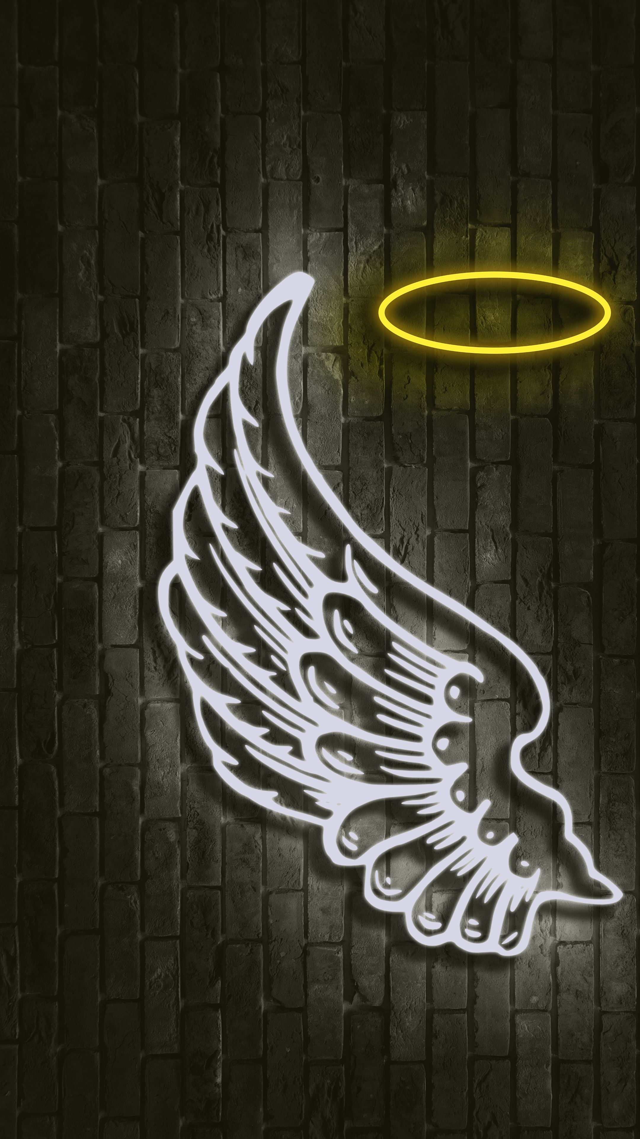 Angel Wings 4k Wallpaper 2160x3840 Wings Wallpaper Dark Wallpaper Iphone White Angel Wings
