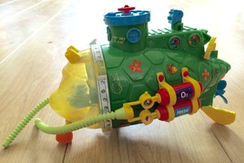 Teenage mutant #ninja #turtles hero tmnt sewer submarine #vehicle playmates retro,  View more on the LINK: http://www.zeppy.io/product/gb/2/162134102890/