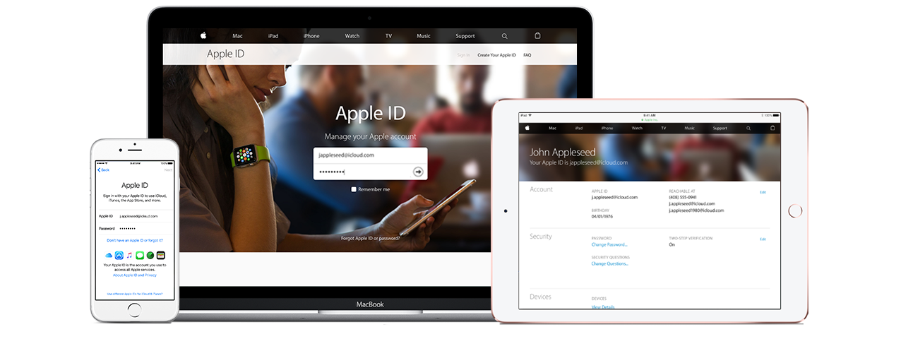 Managing your Apple ID Official Apple Support Iphone