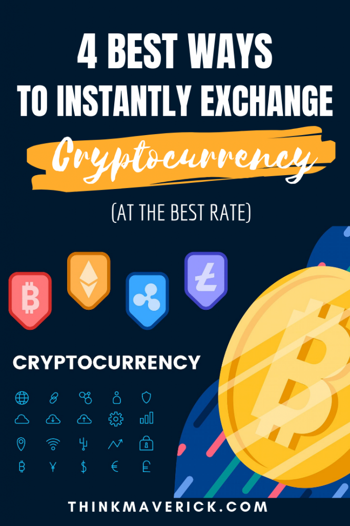 how convert one cryptocurrency to another