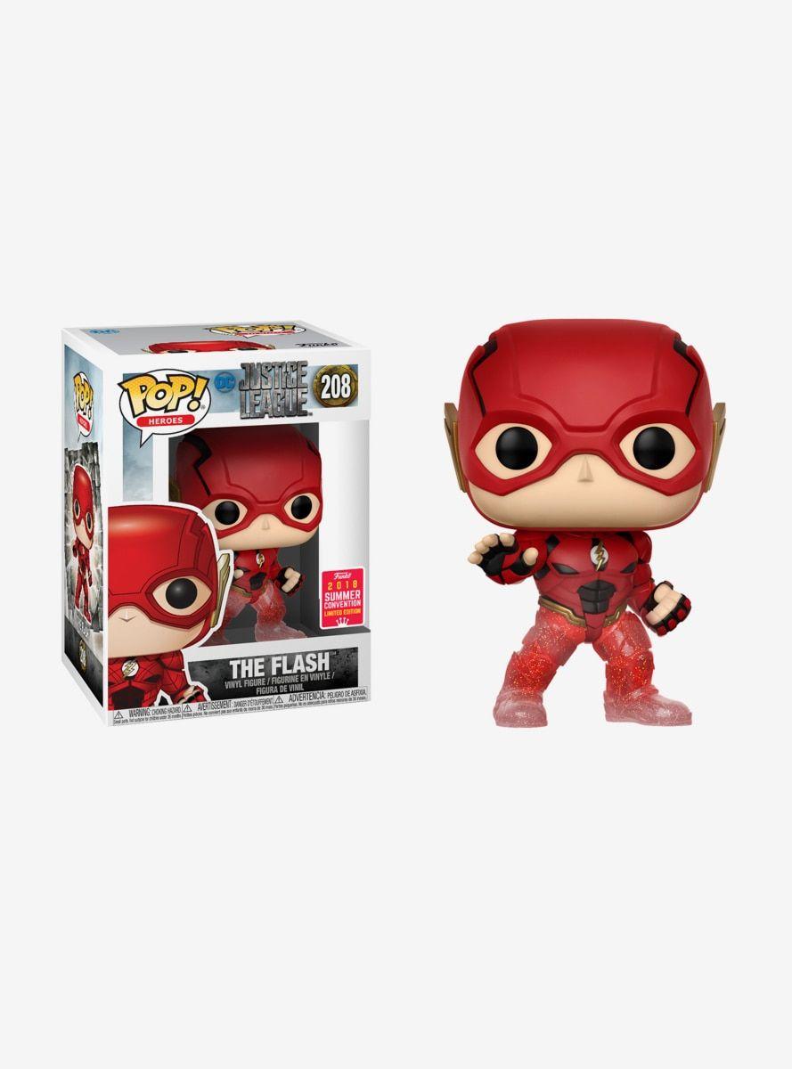 Funko Pop Dc Comics Justice League The Flash Running Vinyl