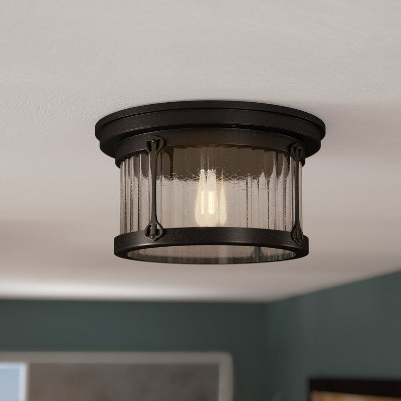 Kierra 2 Light 12 Lantern Drum Flush Mount Semi Flush Ceiling Lights Light Flush Mount Lighting