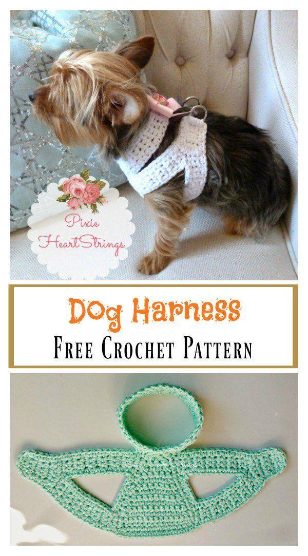 Dog Harness Free Crochet Pattern #freecrochetpatterns explore ...