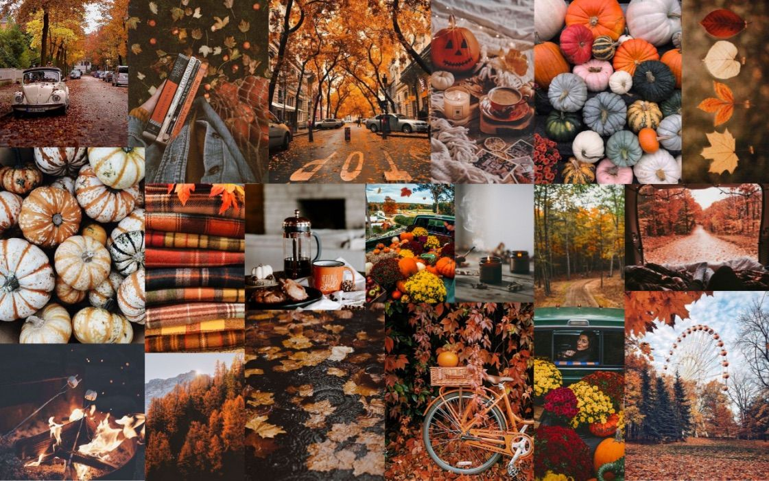 Wallpaper Fall Aesthetic In 2020 Desktop Wallpaper Fall Macbook Wallpaper Halloween Wallpaper Iphone Backgrounds