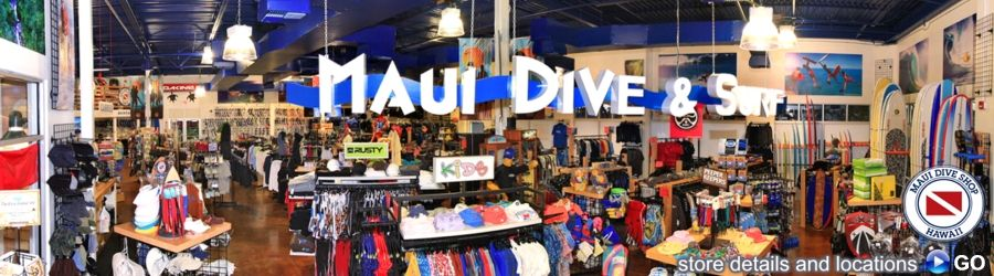 Check them out for your next plunge in Maui Dive shop