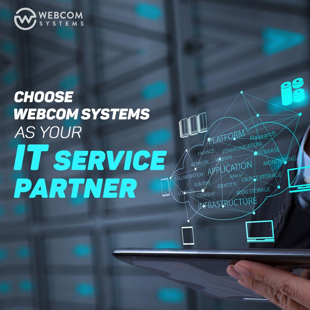 Choose Webcom Systems As Your It Service Partner Web Design Agency Web Design Digital Marketing