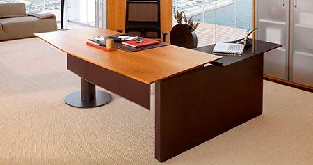 Escritorio gerencial escritorios de gerencia - Escritorios de madera para oficina ...