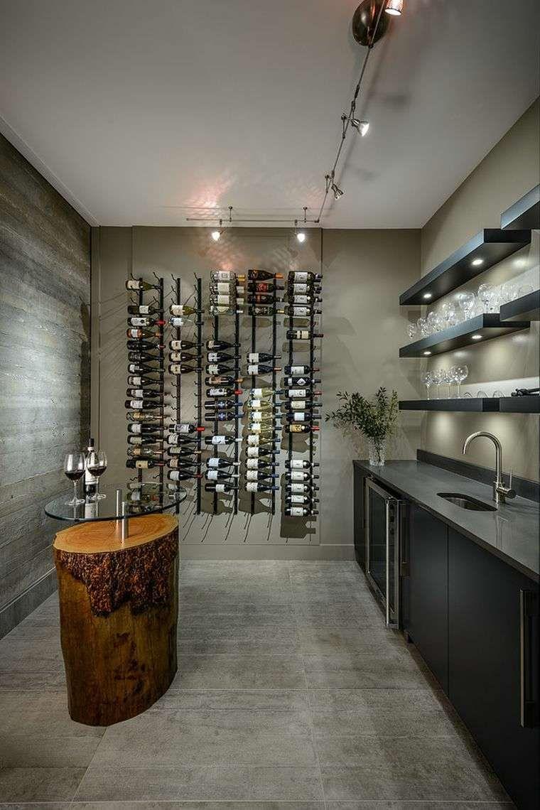meuble de cave à vin de style moderne | Home wine cellars ...
