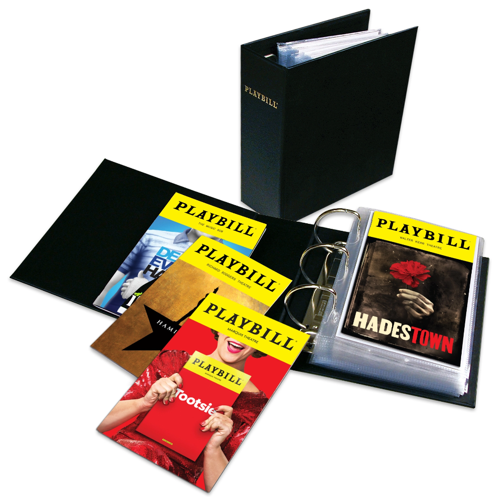 The Ultimate Playbill Binder
