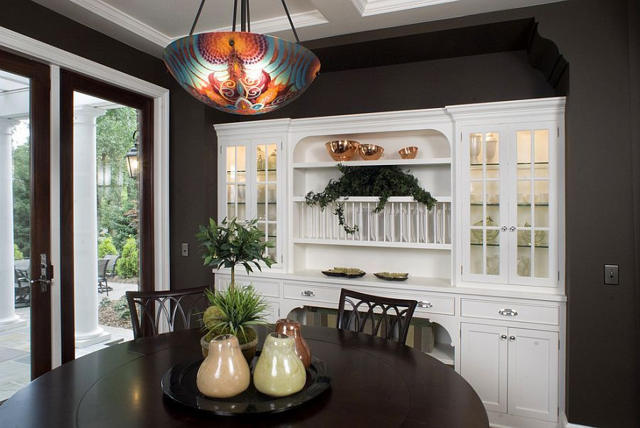 A Modern Alternative To The Traditional Hutch Dining Room