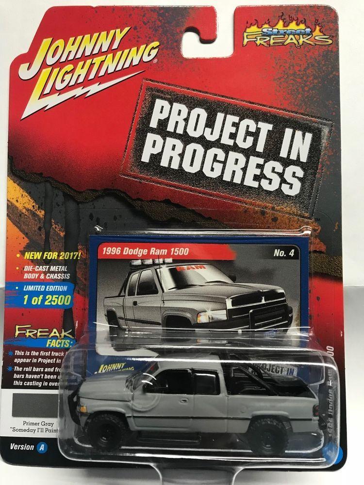 1 64 Johnny Street Freaks 2017 Release 4a 1996 Dodge Ram 1500 Project In Prog Johnnylightning Dodge Hot Wheels Garage Diecast Trucks Toy Trucks