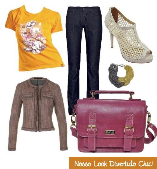 Divertido chic: como sofisticar a combinação jeans+camiseta