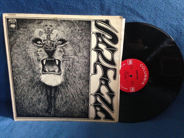 Rare Vintage Carlos Santana Quot Santana Quot Vinyl Lp Record