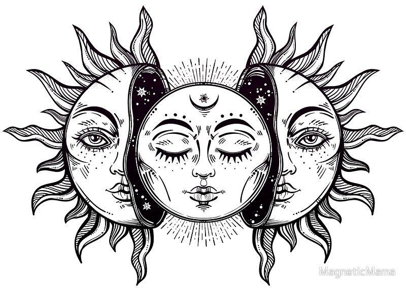Resultado De Imagen Para Half Moon Face Drawing Dibujos Arte Pintura Y Dibujo