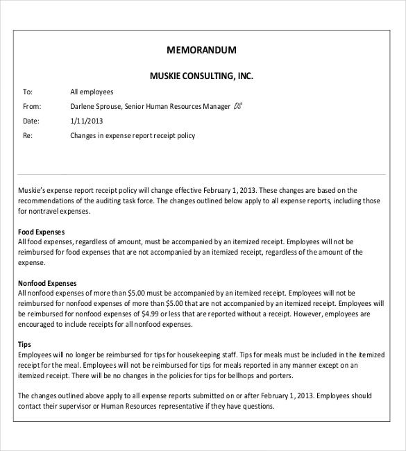 professional memo template free word pdf documents download - sample business memo