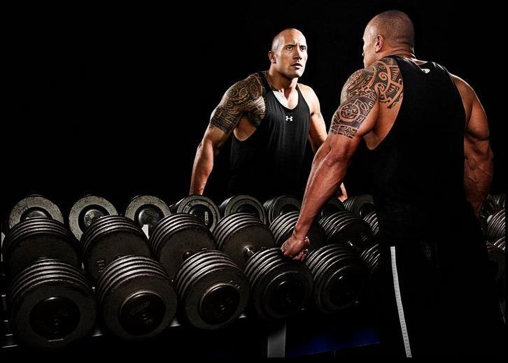 The Rock Training Program Dwayne Johnson, Aka The Rock