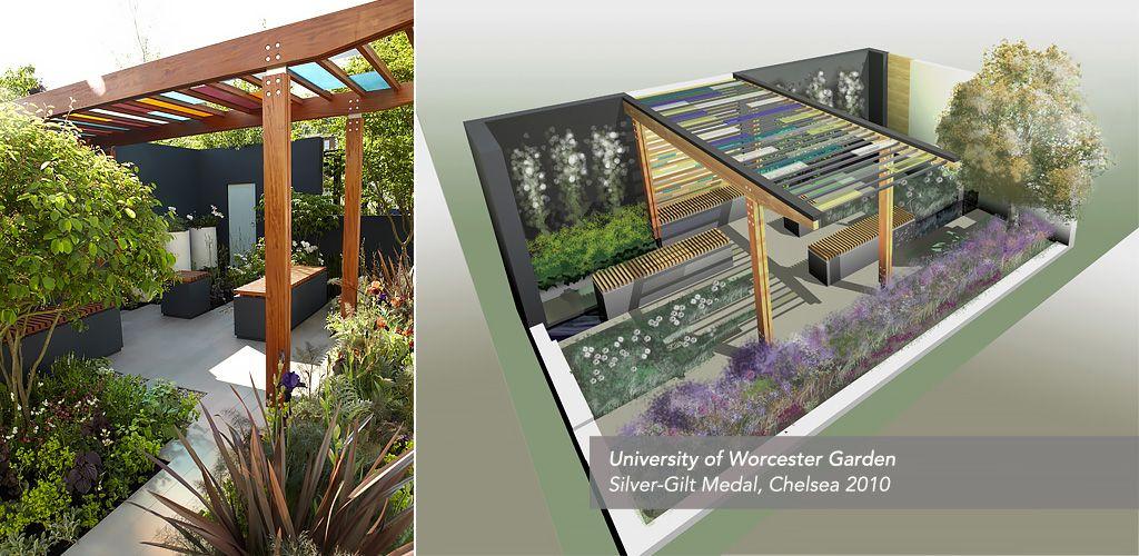 Olivia Kirk Gardens University Of Worcester Garden Chelsea